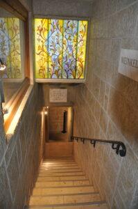 Weinkeller Treppe